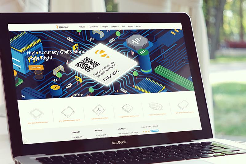 septentrio user case Salesforce